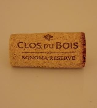 Clos du Bois Sonoma Reserve Cabernet Cork
