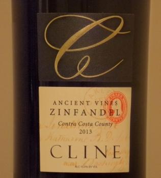 Cline Cellars Ancient Vines Zinfandel Front Label