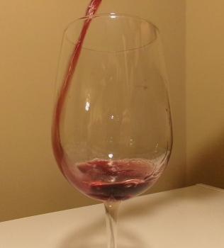 Pouring Cline Cellars Ancient Vines Zinfandel