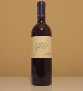 Seghesio Sonoma Zinfandel Bottle