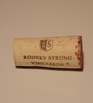 Rodney Strong Alexander Valley Estate Cabernet Cork