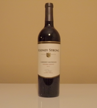 Rodney Strong Sonoma County Cabernet Bottle