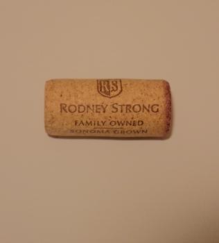Rodney Strong Sonoma County Cabernet Cork