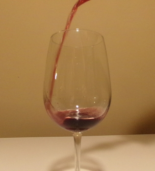 Pouring Rodney Strong Sonoma County Cabernet
