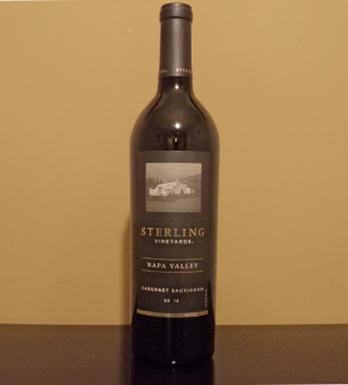 Sterling Napa Valley Cabernet Bottle