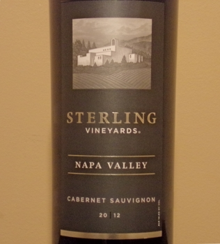 Sterling Napa Valley Cabernet Front Label