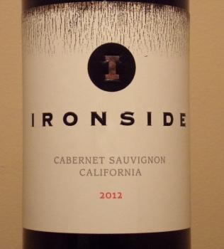 Ironside Cabernet Front Label