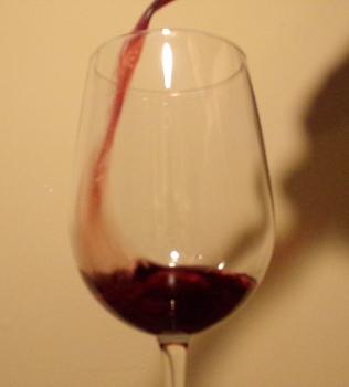 Pouring Bogle Old Vine Zinfandel