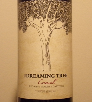 Dreaming Tree Crush Red Blend Front Label