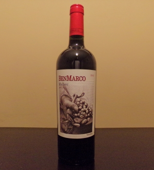 BenMarco Malbec Bottle