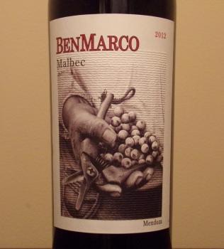 BenMarco Malbec Front Label