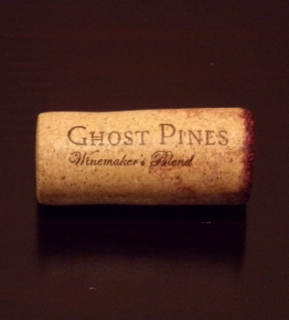 Ghost Pines Cabernet Cork