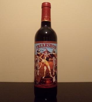 Michael David Freakshow Cabernet Bottle