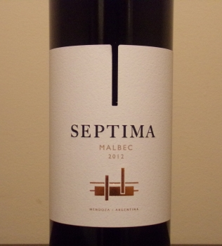 Septima Malbec Front Label