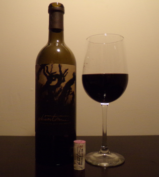 Bogle Phantom First Glass And Bottle